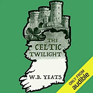 The Celtic Twilight audiobook cover art