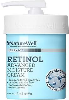 Best NatureWell Retinol Advanced Moisture Cream for Face & Body, 16 oz. | Clinical | Improves Firmness, Tone & Texture Review