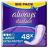 Always Extra Protect Large Slipeinlagen, 48 Stück