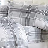 Extra Soft Plaid 100% Turkish Cotton Flannel Sheet Set