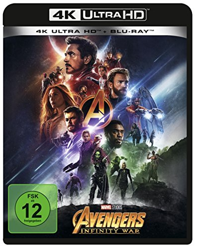 Marvel's The Avengers - Infinity War (4K Ultra HD) (+ Blu-ray 2D) [Alemania] [Blu-ray]