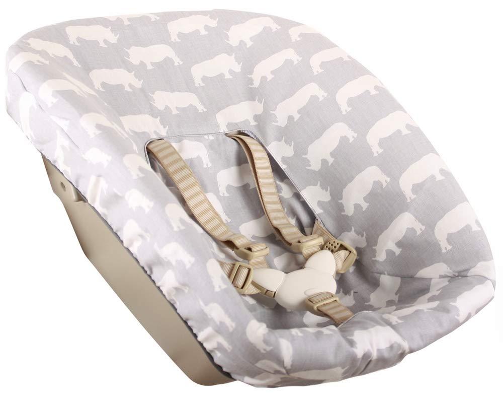 Waffle light grey Ukje cover for newborn set Stokke TrippTrapp