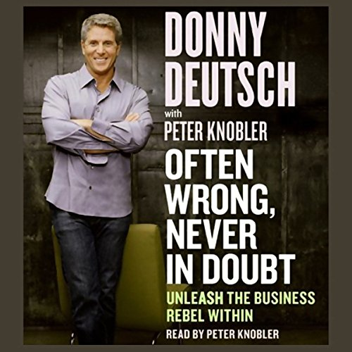 Often Wrong, Never in Doubt cover art