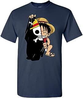 Monkey D Luffy Flag One Piece Anime T-Shirt