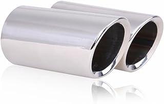 Auspuffblende f/ür A3 8P Polo 6R A3 8V OTUAYAUTO Edelstahl Spiegel Poliert Chrom Endrohre