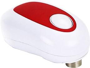 Ouvre-boîte électrique Ouvre-boîte Automatique à Batterie Portable à Bord Lisse Ouvre-boîte Manuel Ergonomique Ouvre-Boute...