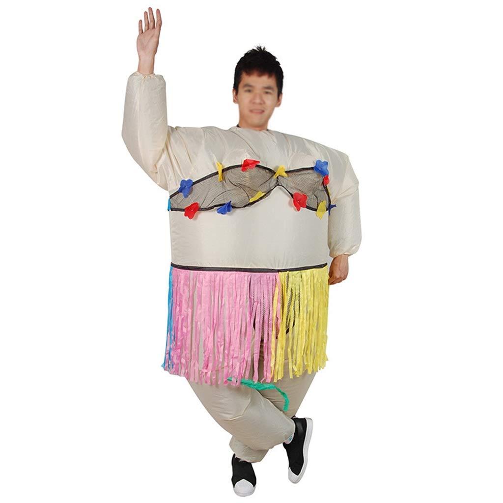 LWWOZL Disfraz Inflable de Halloween Bailarina Inflable Disfraz ...