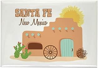 "CafePress SANTA FE New Mesico Magnets Rectangle Magnet, 2""x3"" Refrigerator Magnet"
