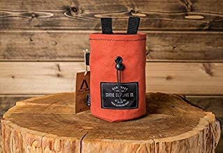 STATIC Canvas Chalk Bag | Salmon (Made in the USA)