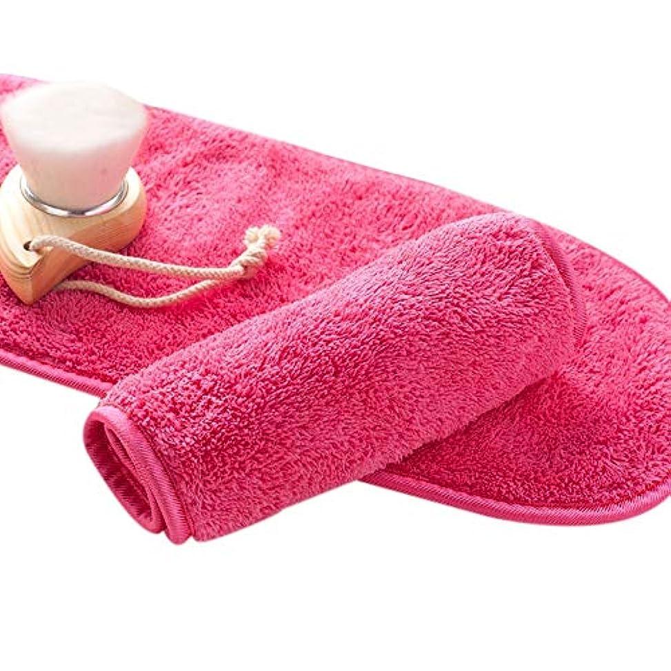 匹敵します愛情刈り取るTOOGOO ナチュラル抗菌保護 メイク落とし クレンジング美容ウォッシュツール 再利用可能なマイクロファイバーのフェイシャルクロス 顔用タオル