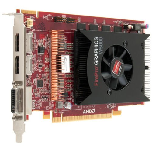 Dell AMD FirePro W5000 2GB GDDR5 PCIe x16 DisplayPort DVI Graphics Card WJ2JT