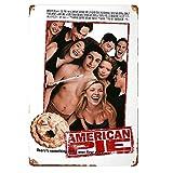 Lawenp American Pie Movie Poster Vintage Style Metal Tin