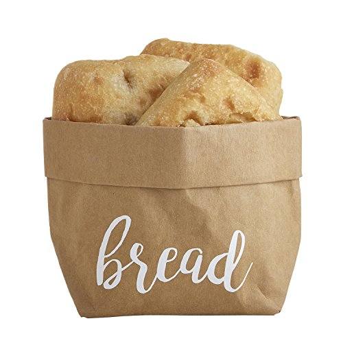 Creative Brands Table Sugar Washable Paper Holder, Large, Bread