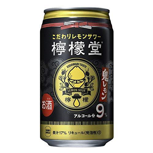 檸檬堂 鬼レモン 缶 [ チューハイ 350ml×24本 ]