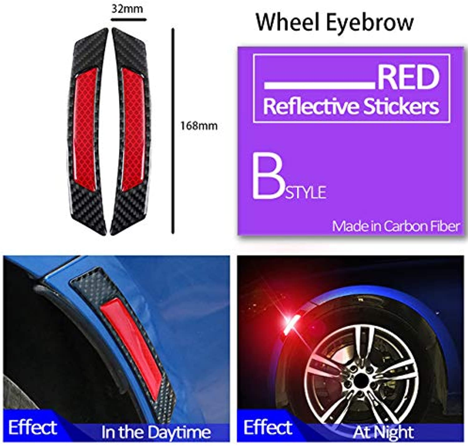 Car Door Strip Predective Sticker for Toyota Renault Chevrolet Cruze Opel Astra h Nissan Qashqai Peugeot 307 308 206  (color Name  Wheel Black Red)