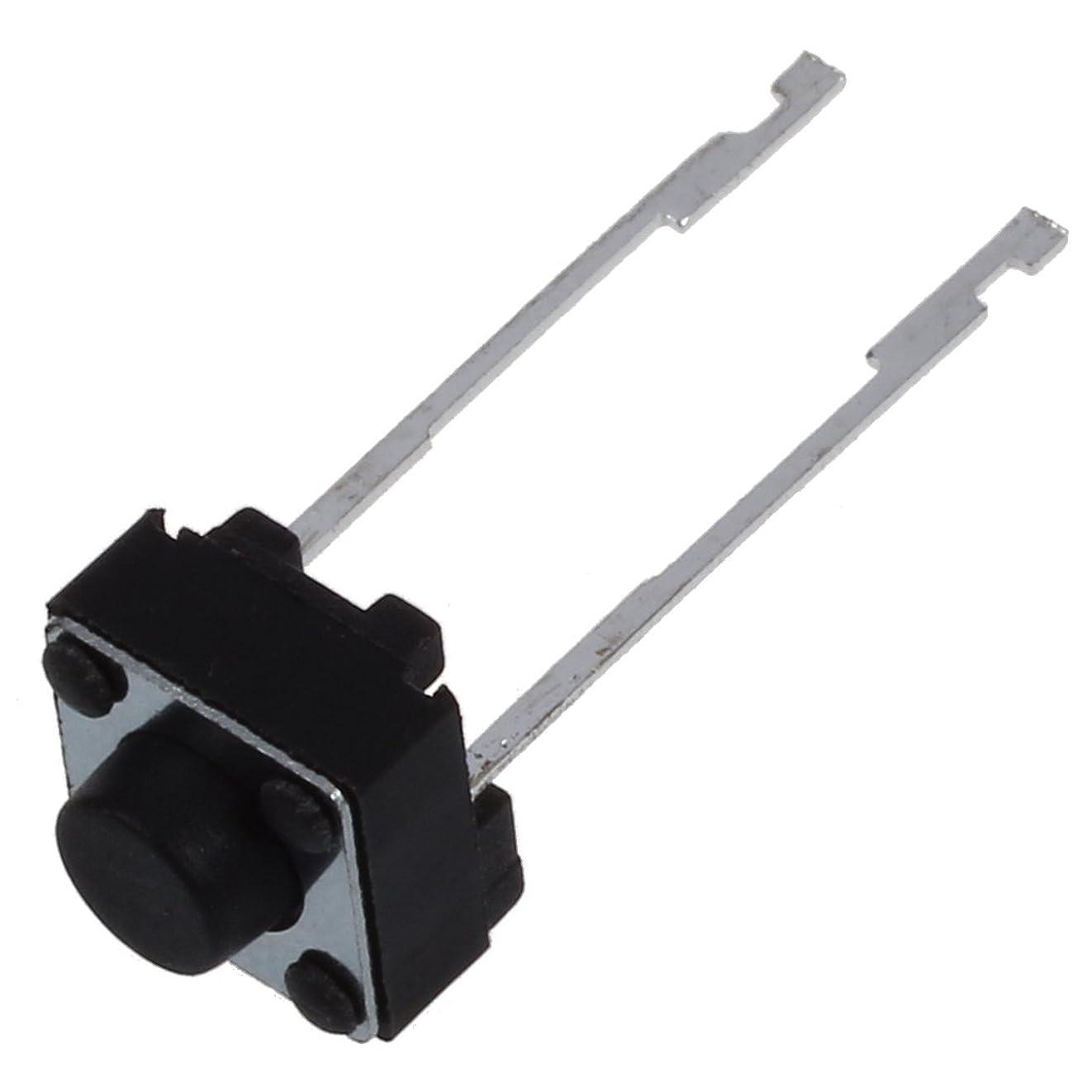 調停する下着繊維スイッチ,SODIAL(R)20x6x6x4mmモーメンタリ触覚タクト押しボタンスイッチ 2ピンDIPスルーホール