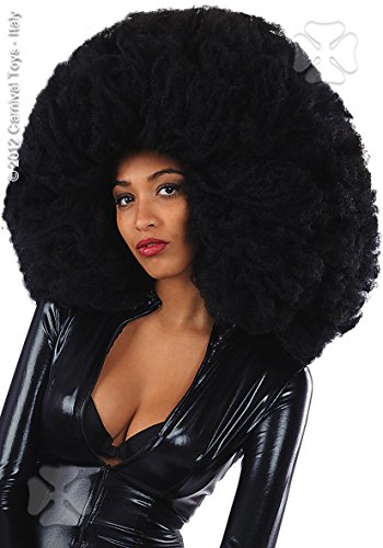 CARNIVAL TOYS Perruque Afro XXXL - Taille Unique