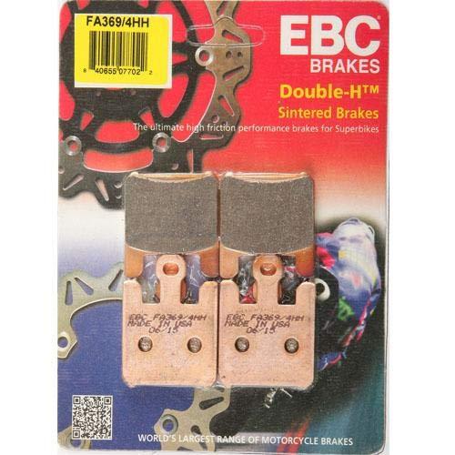 EBC FA369/4HH - Pastillas de Freno compatibles con Kawasaki ZX-6R 636 ZX-10R ZX-12R (2003-2007)
