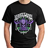 Photo de Fashion Personality Pattern Cotton Men's T-Shirt EARTHLESS Nebula Hot Snakes Psychedelic Band Short Sleeve Funny T-Shirt par