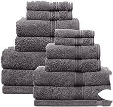 Ramesses Egyptian Cotton Bath Towel - Charcoal Superfine 100% Egyptian Cotton Pile