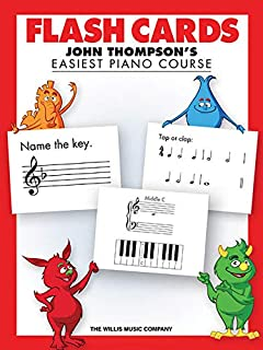 Flash Cards: John Thompson's Easiest Piano Course