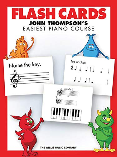 John Thompson's Easiest Piano Course: Flash Cards: Lehrmaterial für Klavier