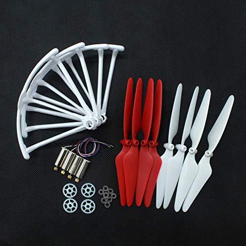 Accessori per droni Elica Elica+Ingranaggio+Cuscinetti+Motori+ Kit di parti di ricambio per protezioni per Hubsan H502S H502E Accessori per droni quadricottero Rc Drone(Colore:Multi)(Colore:Multi)(Co