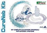 Cura Farma 26240 Curaneb Universal-Ersatzteil-Kit für Kolben-Aerosol, 200 g