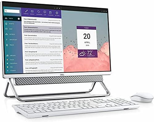 "Desktop, 23.8"" Full-HD (1920 x 1080) Touchscreen, Intel Core 11th Gen i7-1165G7, 16GB RAM, 256GB SSD SSD + 1TB Hard Drive, Windows 10 (Certified Refurbished) - Dell Inspiron 24 5400 All-in-One"
