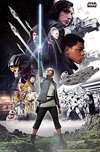 póster star wars de la marca Trends International