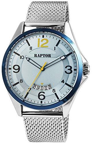 Raptor Reloj Análogo para de los Hombres de Miyota 2315 con Correa en Acero Inoxidable RA20282-003