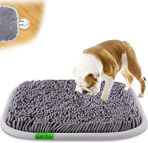 Snuffle Mat para Perros, Alfombrilla Alfombra Olfativa Perros Esterilla de Alimentación para Perros,Perros tapete de Entrenamiento Juguetes para Perros de Rompecabezas e Interactivos Toys