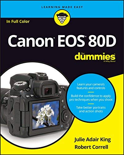 King, J: Canon EOS 80D For Dummies