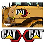 Pour 2x grandes escavaches Caterpillar autocollants Cat énormes décalcomanies 106cm * 66cm (Size : 20cm)