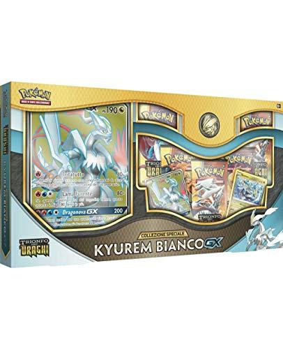 TCG Pokemon Box Collezione Kyurem Bianco GX Trionfo dei Draghi -Italiano