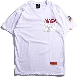 Men's NASA T-Shirt Sweatshirt Sport Casual Wear Street Wear Couple Large Size 2 Colors B60533
