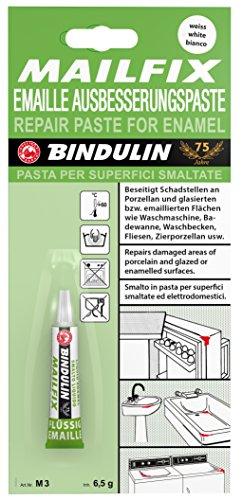 Bindulin Mailfix 6,5 g Tube Faltschachtel Farbe: weiß (Ausbesserungspaste für Emaille, Porzellan)