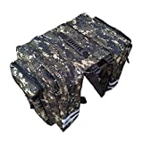 nobran 2 in 1 Bicycle Trunk Bags Cycling Double Side Rear Rack Pannier Luggage Car