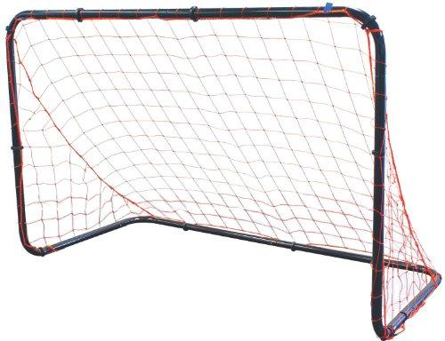Park & Sun Sports Steel Frame Multi-Sport Goal with Nylon Bungee Slip Net, 6' W x 4' H x 3' D, Blue, One Size