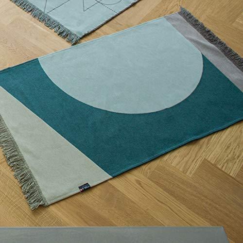 David Fussenegger omkeerbaar tapijt Goliath mintgroen - (0655 51)