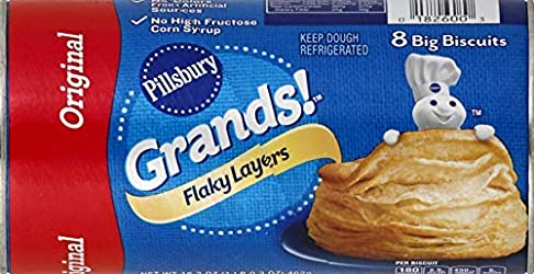 Pillsbury Grands! Flaky Layers, Original, 8 ct, 16.3 oz