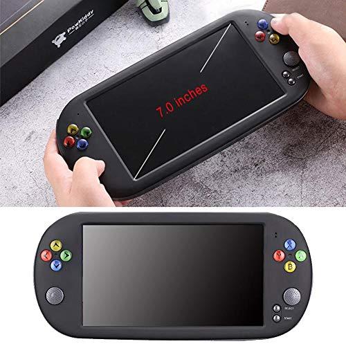 Consola de juegos portátil PSP X16 Consola de juegos portátil NES Nostalgic FC de 7 pulgadas de pantalla grande y de alta definición HD GBA Arcade, capacidad de 8GB / 16GB, regalo para niños y adultos