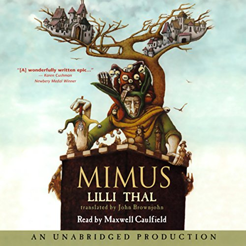 Mimus audiobook cover art