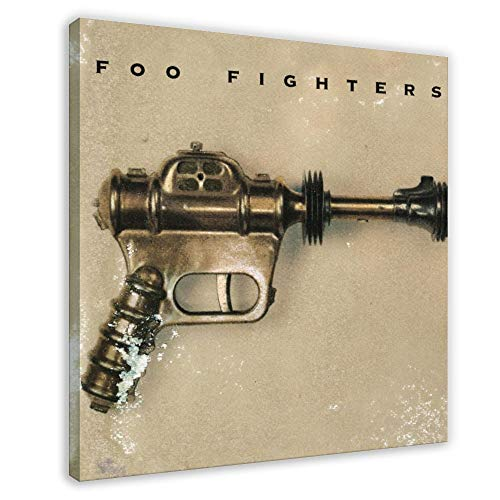 Foo Fighters's Album Cover - Foo Fighters Canvas Poster Bedroom Decor Sports Landscape Office Room Decor Gift 16×16inch(40×40cm) Frame-style1