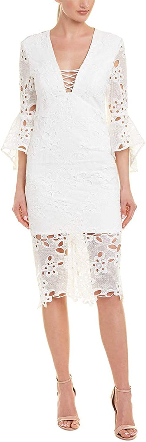 Bardot Womens Indra Lace Dress Special Occasion Dress