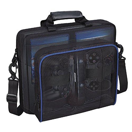 villavivi Storage Tasche Rucksack für PS4, PS4Pro, PS4Slim, Nintendo Switch, PC PS4