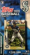 This is a 2020 Seattle Mariners Topps Factory sealed special edition 17 card team set; cards are numbered SEA-1 through SEA-17 and are not available in packs. Players included are Dee Gordon, Kyle Lewis, Marco Gonzales, Yusei Kikuchi, Kyle Seager, Au...