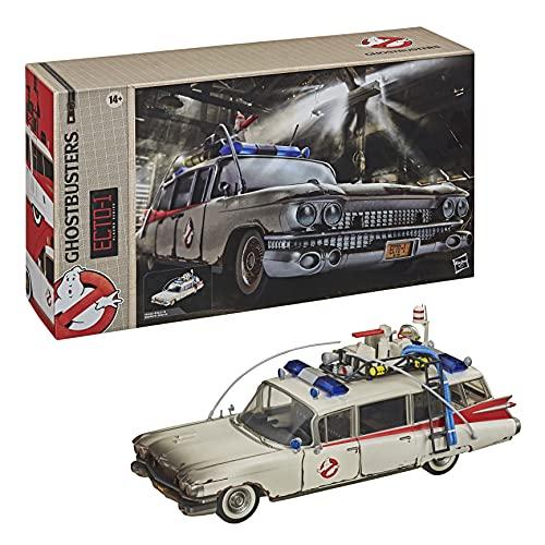 Hasbro Ghostbusters Plasma Serie Ecto-1, Veicolo Giocattolo Ghostbusters: Legacy da Collezione, in Scala, Alto 15 cm, per Bambini dai 14 Anni No Color, E95575L0
