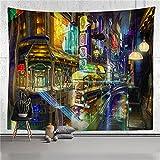 YYRAIN Tapiz De Impresión Colorido Fondo De Pared De Casa Pasillo De Tela Pinturas De Pared Tapices De Regalo 30x39 Inch {75x100cm} C