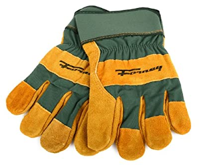 Forney Cowhide Leather Palm Premium Lined Men's Work Gloves